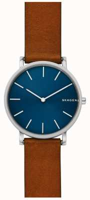 Skagen Mens Hagen Leather Strap SKW6446