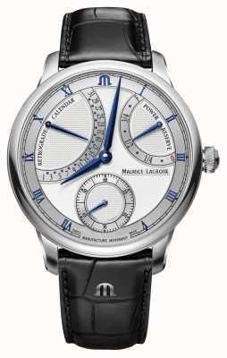 Maurice Lacroix Masterpiece Calendar Retrograde Automatic Watch MP6568-SS001-132-1