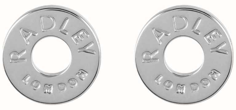 Radley Jewellery Esher Street Silver Circle Stud Earrings RYJ1003