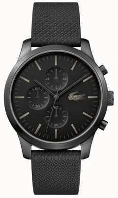 Lacoste Mens 12.12 85th Anniversary Triple Black Watch 2010947