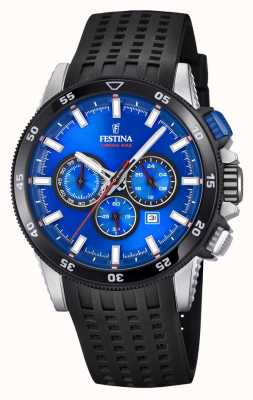 Festina 2018 Chronobike Watch Rubber Strap F20353/2