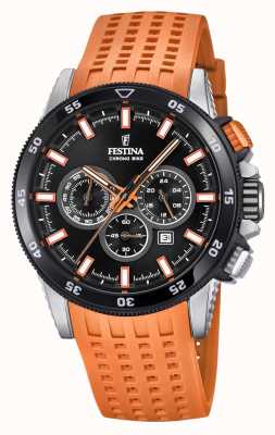 Festina 2018 Chronobike Watch Rubber Strap F20353/6