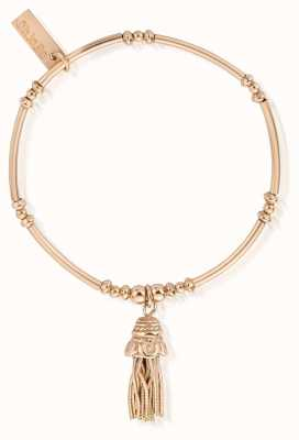 ChloBo Rose Gold Didi Tassel Bracelet RBMN338