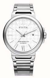 FIYTA Solo Automatic Stainless Steel White Dial Sapphire GA852000.WWW