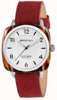 Briston Clubmaster Chic Blue Strap White Dial 18536.SA.BE.2G.LNR