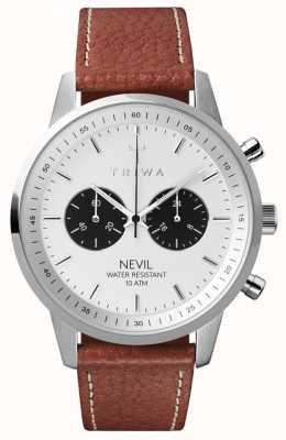 Triwa Mens Raven Nevil Tumbled Brown Sewn Classic 2 TR.NEST119-TS010212