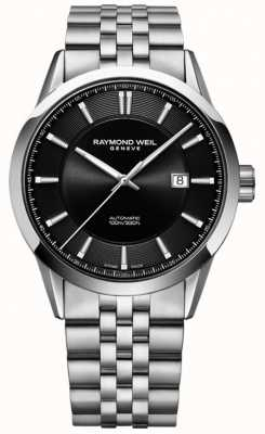 Raymond Weil Men's Freelancer Automatic Stainless Steel Bracelet 2731-ST-20001