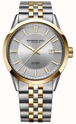 Raymond Weil Men's Freelancer Automatic Two Tone Bracelet Silver Dial 2731-STP-65001