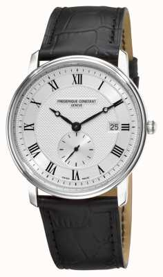 Frederique Constant Men's Slimline Silver Case Swiss Made FC-245M5S6