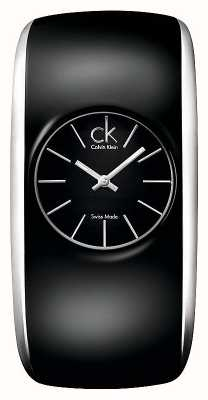 Calvin Klein Gloss Womens All Black Small Watch K6095101