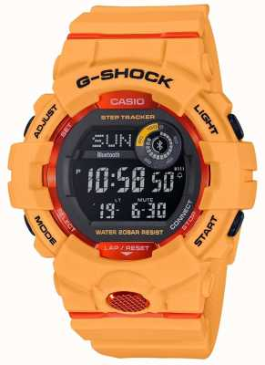 Casio G-Squad Orange Digital Bluetooth Step Tracker GBD-800-4ER