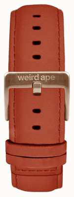 Weird Ape Rust Suede 20mm Strap Only Rose Gold Buckle ST01-000094