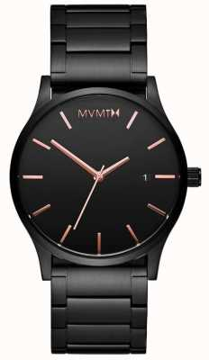 MVMT Mens Classic Black Rose MM01-BBRG
