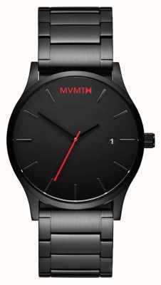 MVMT Classic Black Link | Black PVD | Black Dial D-L213.5B.551