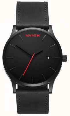 MVMT Classic Black Leather | Black Strap | Black Dial D-L213.5L.551