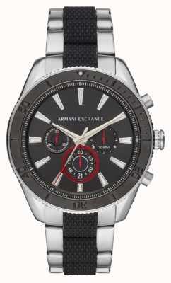 Armani Exchange Mens Enzo Sport Chronograph Watch Ad Bracelet Gift Set AX7106