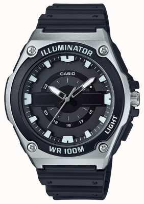 Casio Men's Black Resin Illuminator Watch MWC-100H-1AVEF