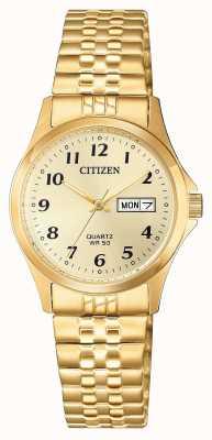 Citizen Women's Quartz Stainless Steel Expansion Watch EQ2002-91P