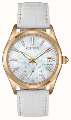 Citizen Womens Eco-Drive Leather Strap Corso EV1033-08D