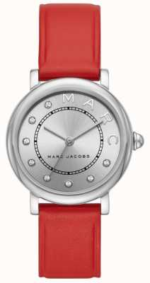 Marc Jacobs Womens Marc Jacobs Classic Watch Red Leather MJ1632