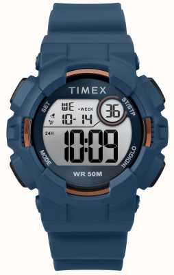 Timex Mako DGTL™ 44mm Blue Case Blue Strap TW5M23500