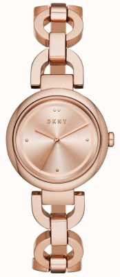 DKNY Women's Eastside Rose Gold PVD Plated NY2769