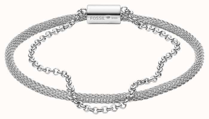 Fossil Womens Stainless Steel Bracelet JF03023040