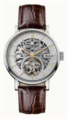 Ingersoll Men's The Charles Automatic Brown Leather Strap I05801