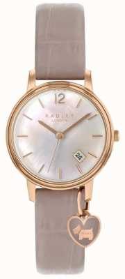 Radley Ladies Rose Gold Watch Cobweb Strap RY2720