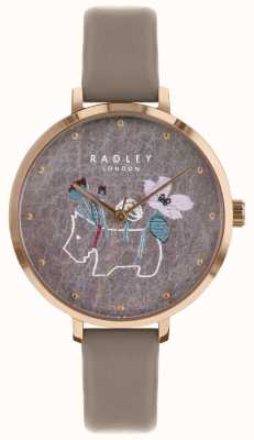 Radley Ladies Watch Flower And Dog Print RY2682