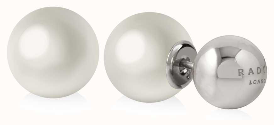Radley Jewellery Pearl Stud Earrings Silver RYJ1039