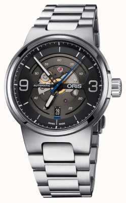 Oris Williams Engine Date Automatic Stainless Steel Black Dial 01 733 7716 4164-07 8 24 50