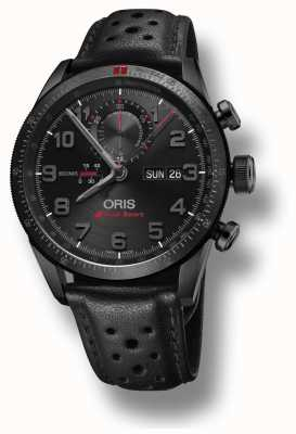 Oris Audi Sport Limited Edition II Automatic Black Leather Strap 01 778 7661 7784-SET LS