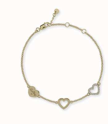 Radley Jewellery Gold Heart Charm Bracelet RYJ3022