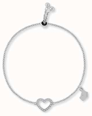 Radley Jewellery Silver Heart Charm Bracelet RYJ3043