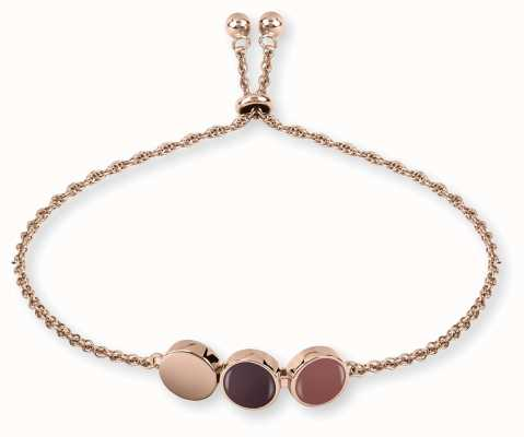 Radley Jewellery Rose Gold Enamel Drop Bracelet RYJ3028
