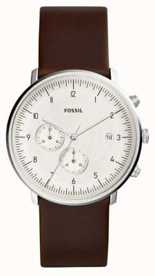 Fossil | Mens Chase watch Brown Leather | FS5488