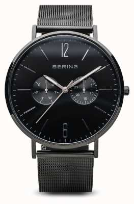 Bering Classic | Polished Black |Mens | 14240-223