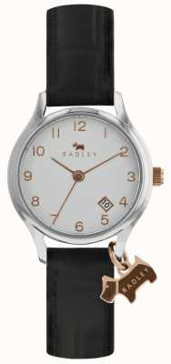 Radley Womens Liverpool Street Black Leather Strap RY2589