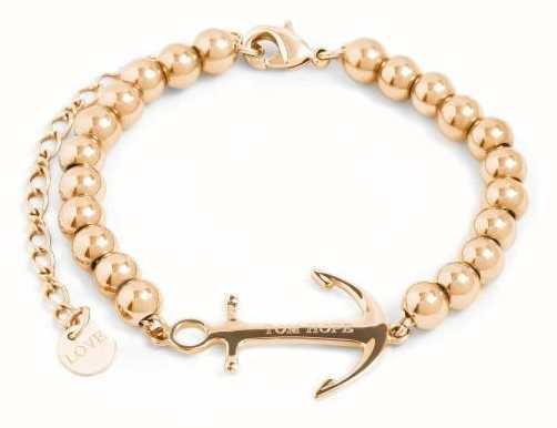 Tom Hope Womens Saint Perline Gold Beads Bracelet TM0341