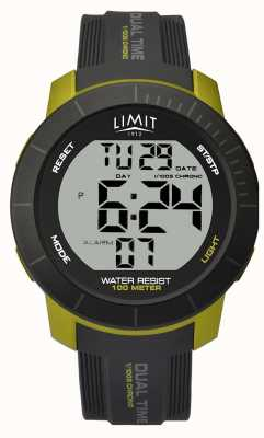 Limit Mens Limit | Dual Time Chronograph Watch 5675.66