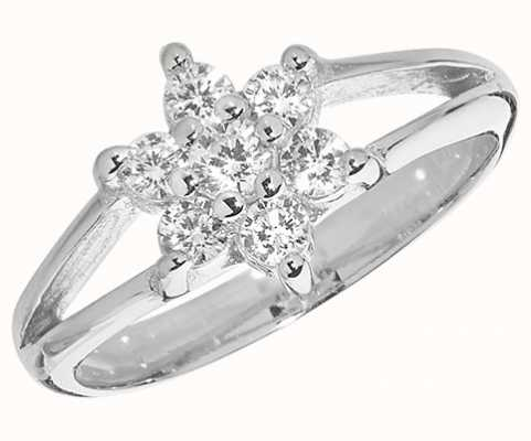 Treasure House Silver Babies Cubic Zirconia Ring G7461
