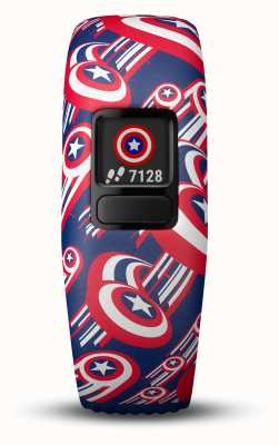 Garmin Vivofit Jr2 Captain America Adjustable Strap 010-01909-12