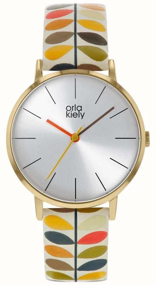 Orla Kiely Las Patricia Watch Stem Print Ok2246
