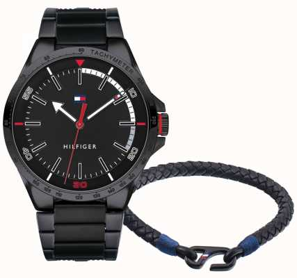 Tommy Hilfiger Men's Watch And Bracelet Gift Set 2770029