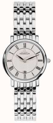 Michel Herbelin Womens Classique | White Dial | Stainless Steel Bracelet 16945/B01