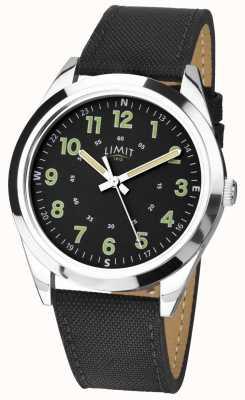 Limit | Men's | Black Leather Strap | 5950.01