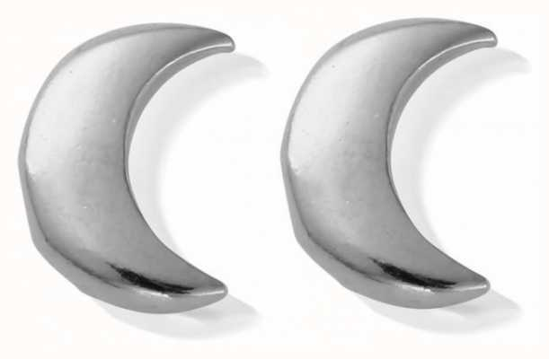ChloBo Silver | Moon Stud | Earrings SEST834