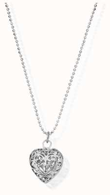 ChloBo Diamond Cut Chain | With Filigree Heart | Pendant SCDC1050