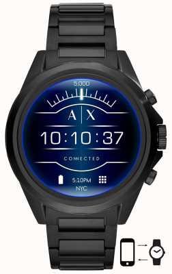 Armani Exchange Drexler Black | Stainless Steel | Smartwatch AXT2002